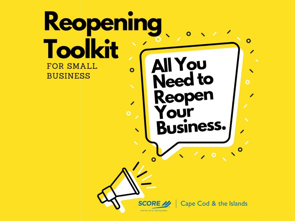 SCORE Reopening Toolkit for Small Business