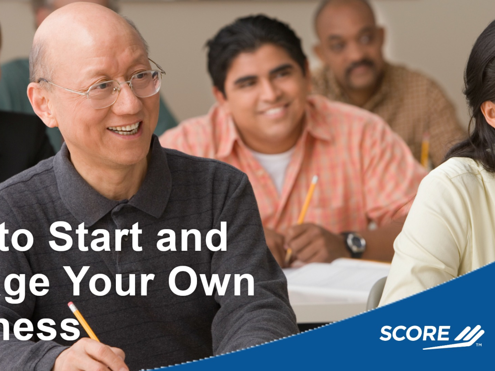 How to Start and Manage Your Own Business: 11/6/2021