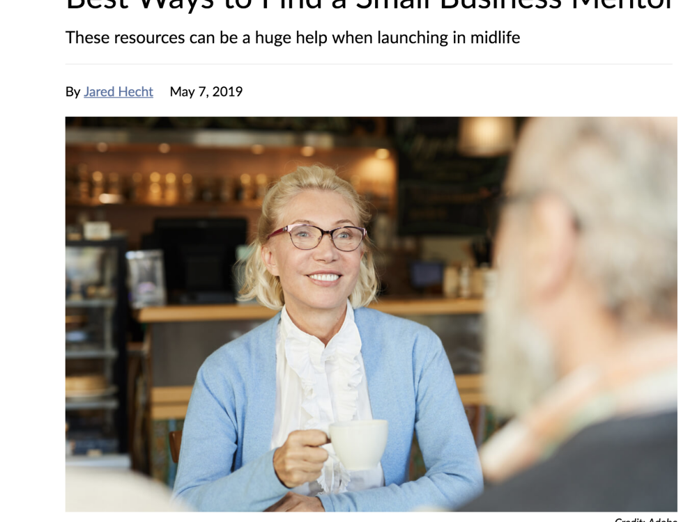 IN THE NEWS | Best Ways to Find a Small Business Mentor