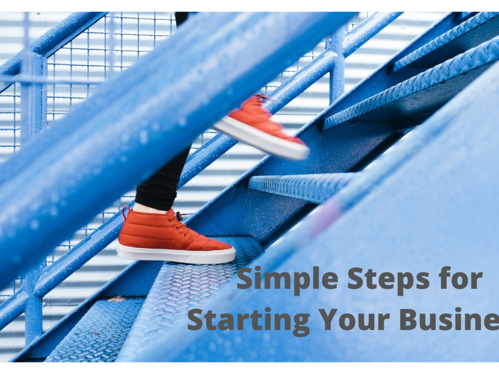 Simple Steps for Starting your Business - Basics - 12/07/2021