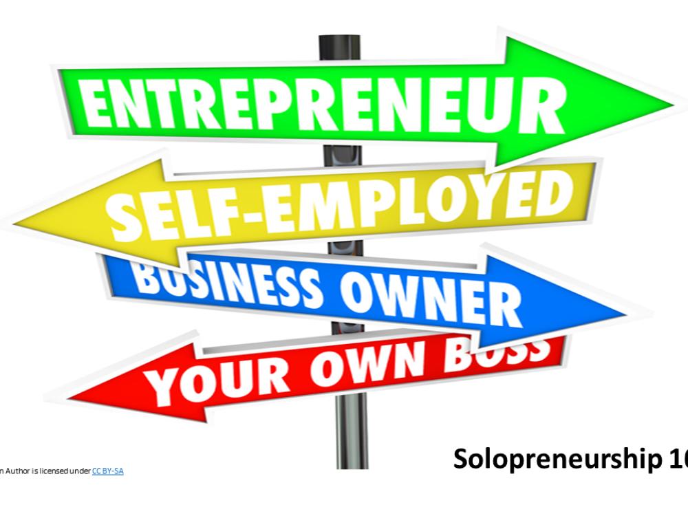 Solopreneurship 101 - 12/09/2021
