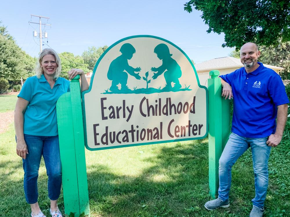Ted & Jill, Owners of ECEC