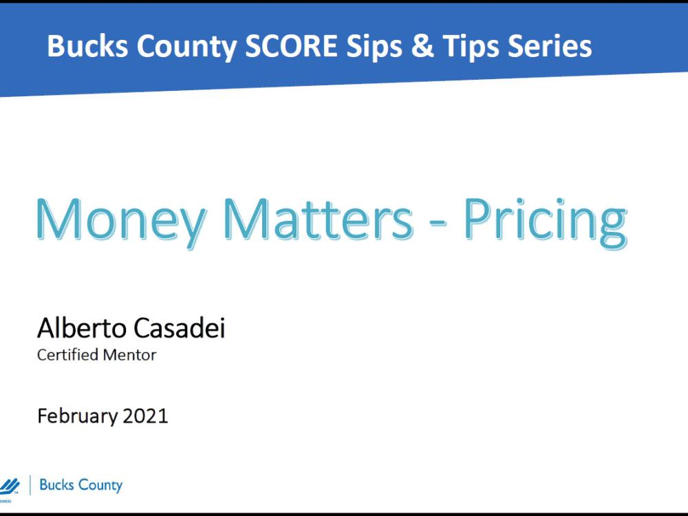 February 2021 Sips & Tips with Marissa Bloedoorn - slides