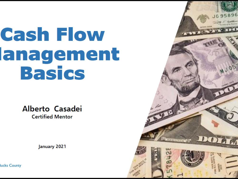 Cash Flow Management Basics - video