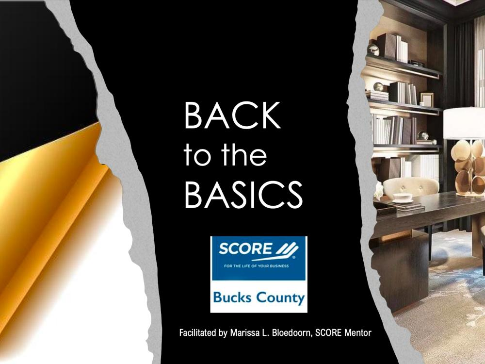 Back to Basics - Understanding SCORE, Our Partners, and Resources - video
