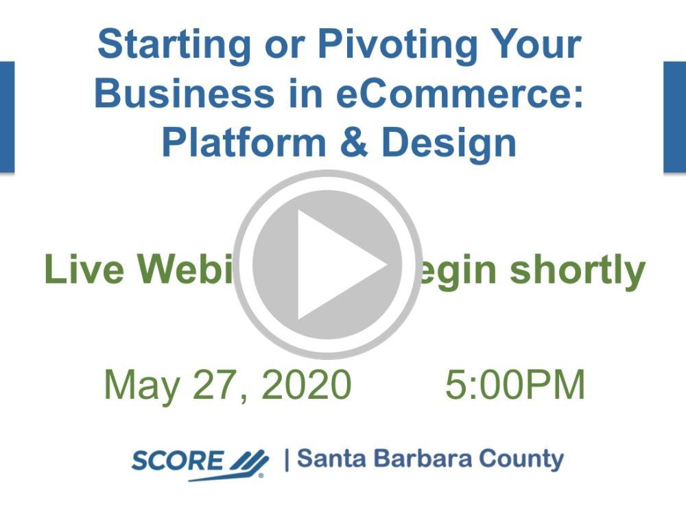 Platform and Design eCommerce Recorded Webinar