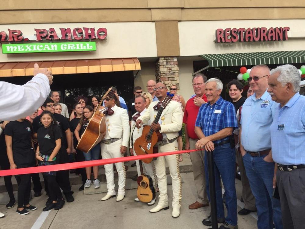 SCORE Volusia/Flagler attends Mr. Pancho Ribbon Cutting Ceremony