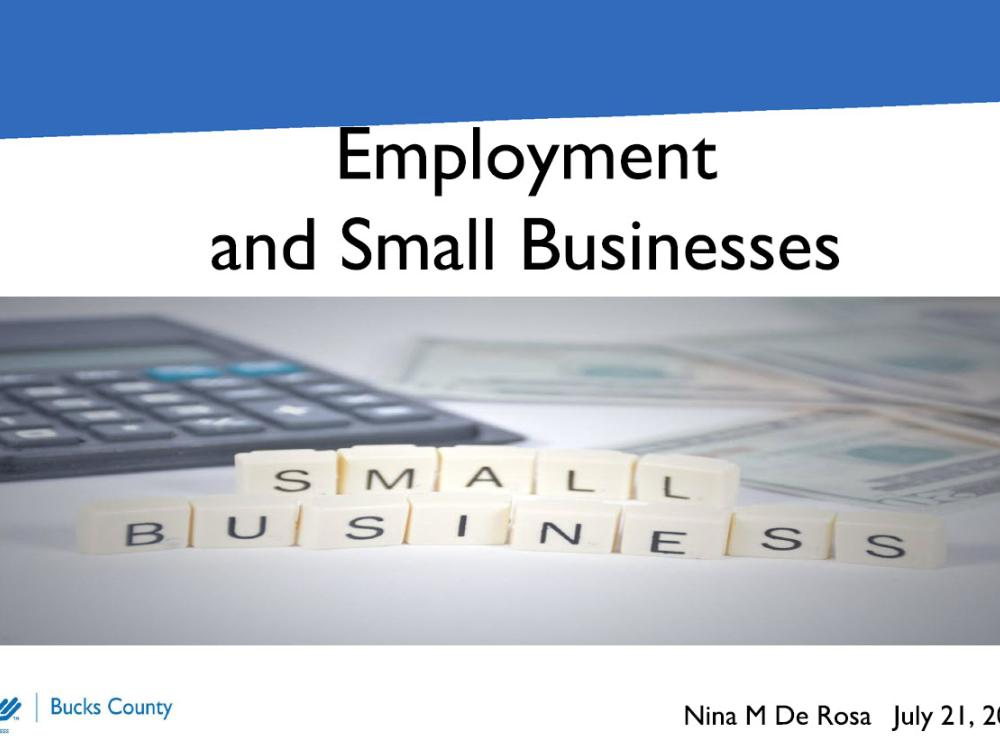 Employees and Small Businesses - slides