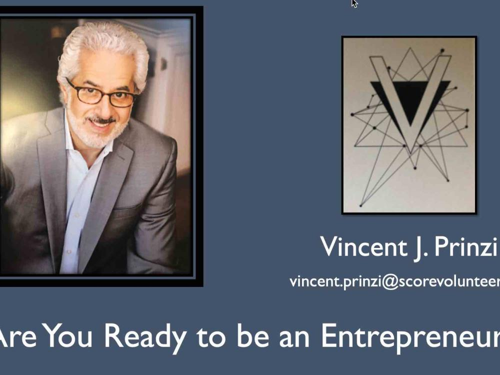 Are you ready to be an Entrepreneur? - slides