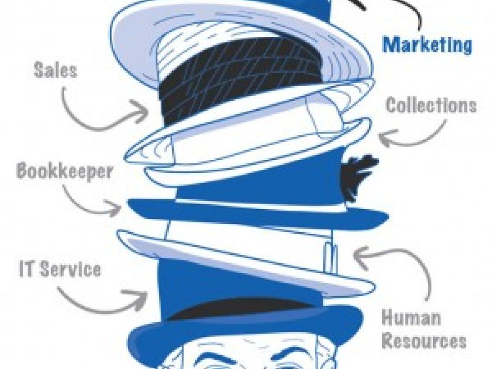 Your Many Hats as a Small Business Owner