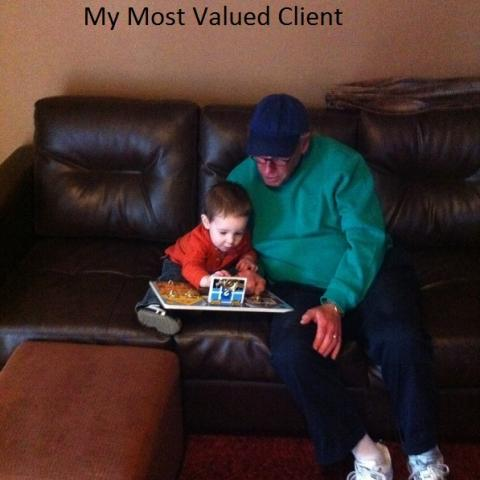 My Most Valued Client . . .