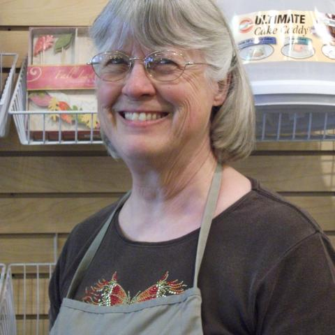 Elizabeth Thomson owner of Cook'n in Style, specialty kitchen store