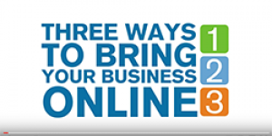 3 Great Ways to Bring Your Business Online