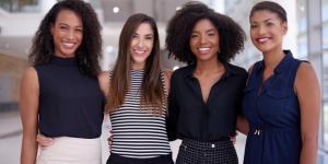 4 Women Entrepreneurs Smiling