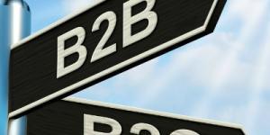 B2B B2C sign