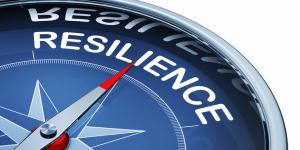 A compass that says resilience