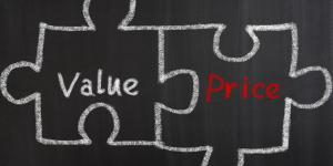 price and value fitting together