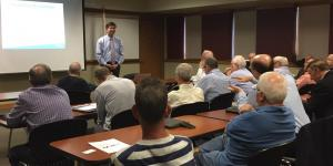 Congressman Schneider Visits with SCORE Chicago mentors at North Area Meeting on Friday, May 26