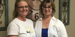 Brooke Bauer and Roxanne Dillon, owners of CraniaLogix
