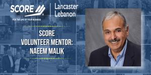 SCORE mentor Naeem Malik