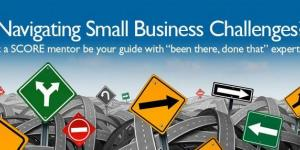 """Navigating Small Business Challenges? Let a SCORE mentor be your guide with """"been there, done that"""" expertise."""