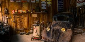 SCORE Henri Steenkamp Antique Car
