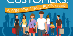 Infographic: Happy Customers—A Win for Small Business!