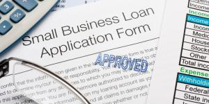 approved small business loan application