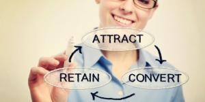 attract convert retain