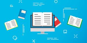 blogging webinar icon