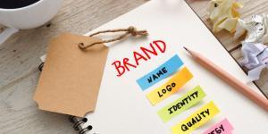 brand name logo design
