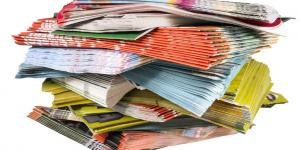 pile of brochures