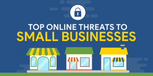 Infographic: Top Online Threats to Small Businesses