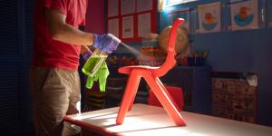 disinfecting daycare