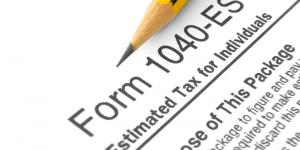 1040-ES estimated tax form