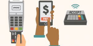 different ways to pay by credit card