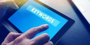 keywords on tablet