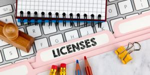 licenses in folder
