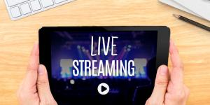 live streaming video tablet
