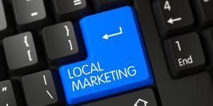 local marketing keyboard button
