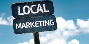 local marketing sign