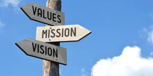 values mission vision