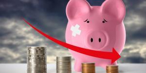 piggybank losing money