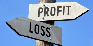 profit loss signs