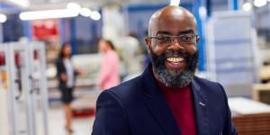 senior African-American entrepreneur