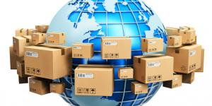 shipping boxes around the world