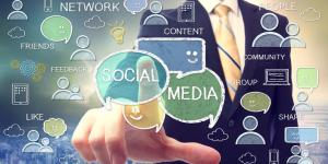 social media terms and icons