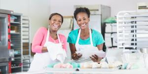 two female bakery owners