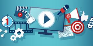 video webinar icon
