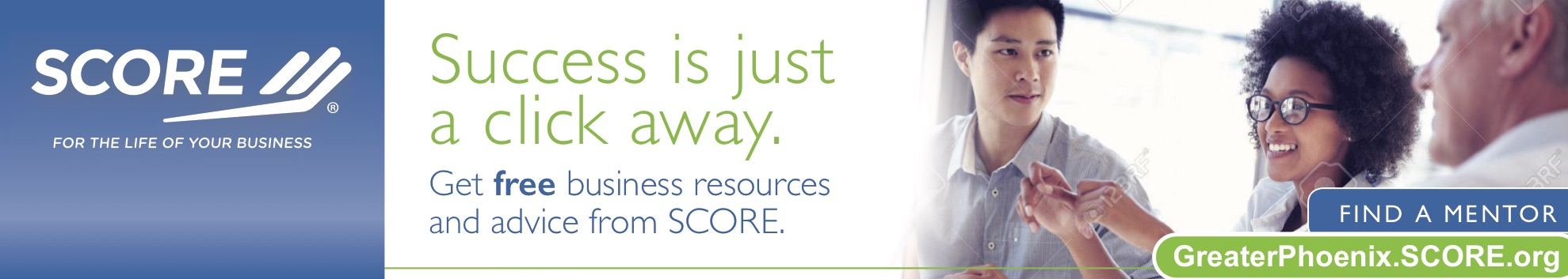 Meet with a SCORE Mentor for free Business Help